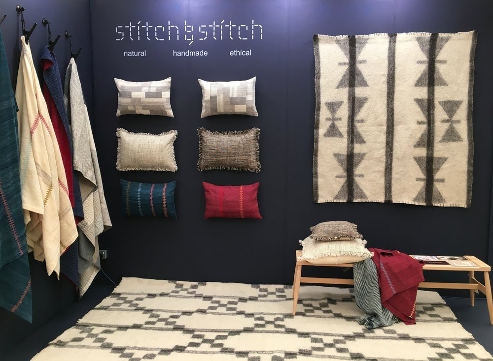 Stitch by Stitch stand at Decorex 2016