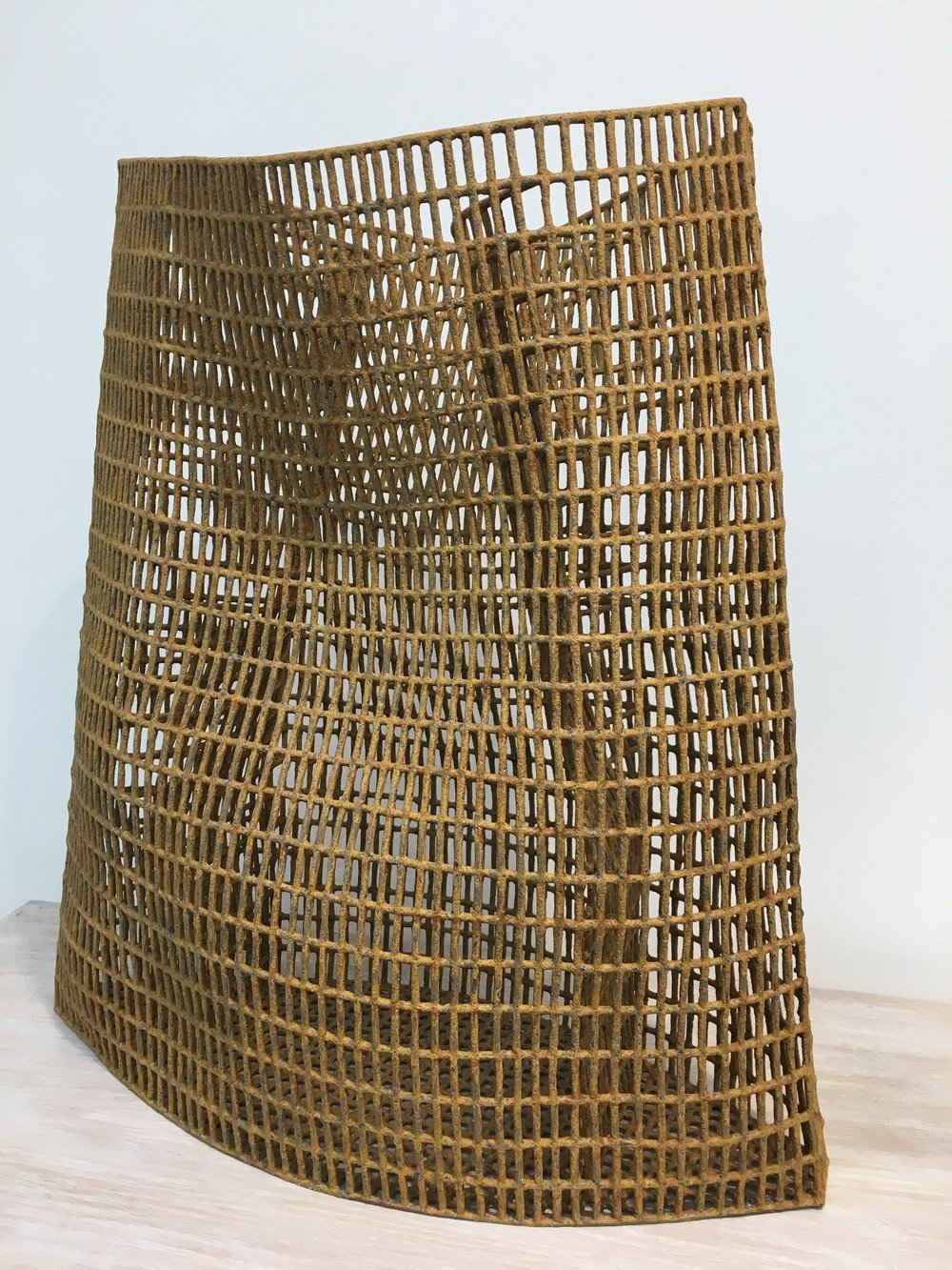 """Annie Turner's stoneware """"Net"""""""