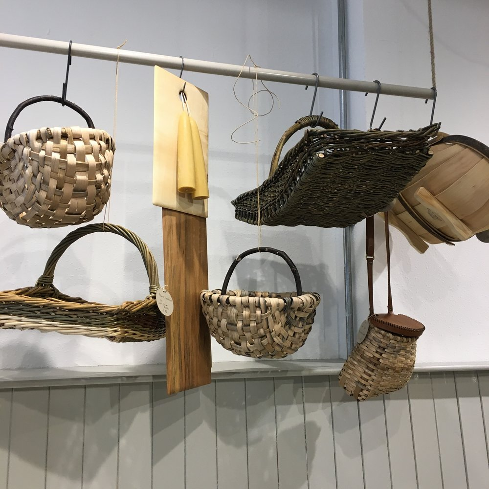 Basketry by Lorna Singleton and Cuckmere Trug Company