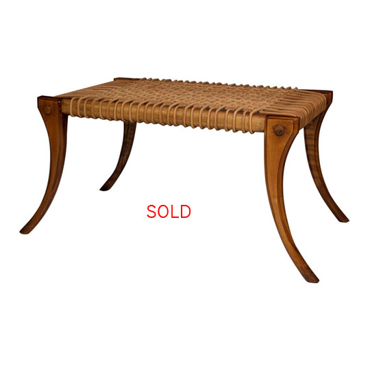 Klismos Bench SOLD.jpg