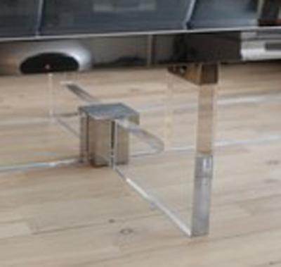 Lucite Chrome Brass Table 2.jpg