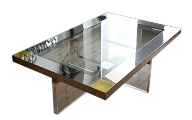 Lucite Chrome Brass Table 1.jpg