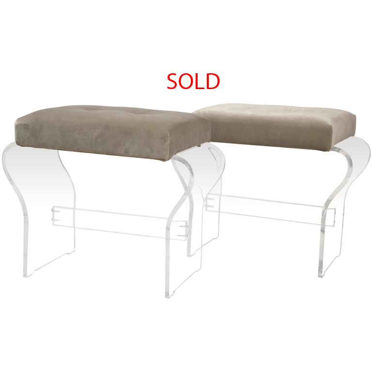 Curved Lucite Stools Sold.jpg