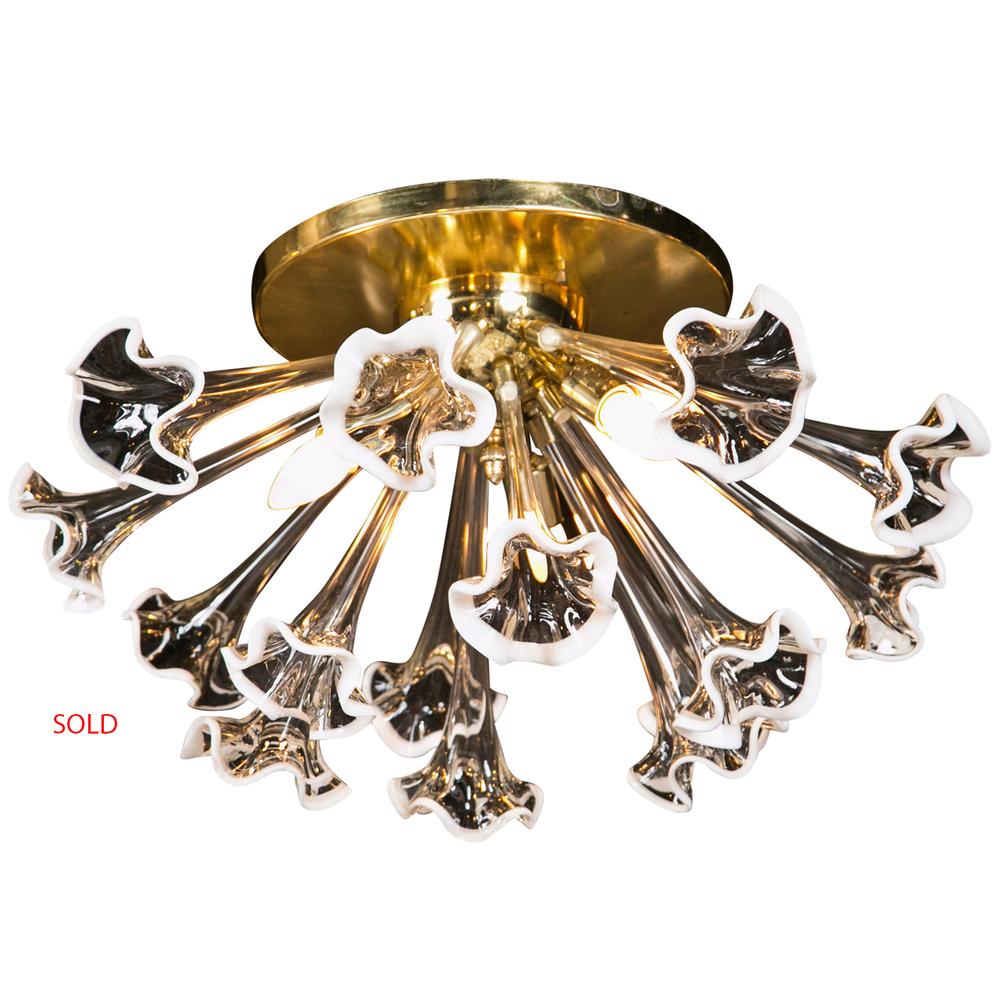 Murano Brass Flower SOLD.jpg