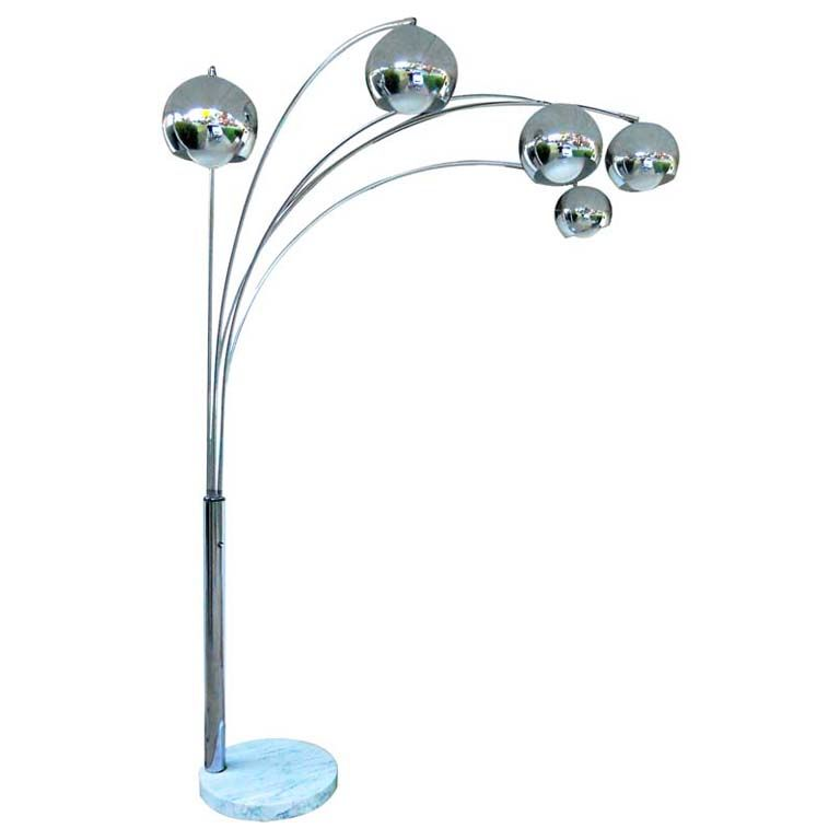 5 Arm Chrome Arc Lamp.jpg