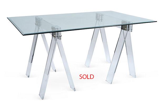 Lucite Nickel Sawhorse sold.jpg