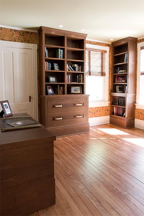 Bookcases + Desk