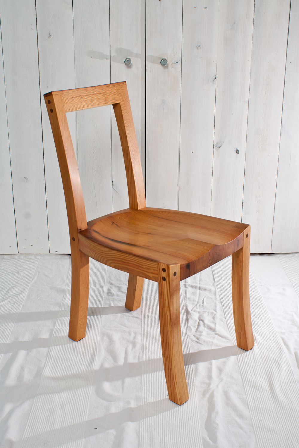 Reclaimed Heart Pine Chair