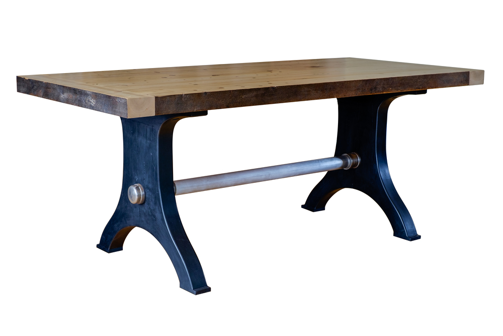 Reclaimed Workbench Table