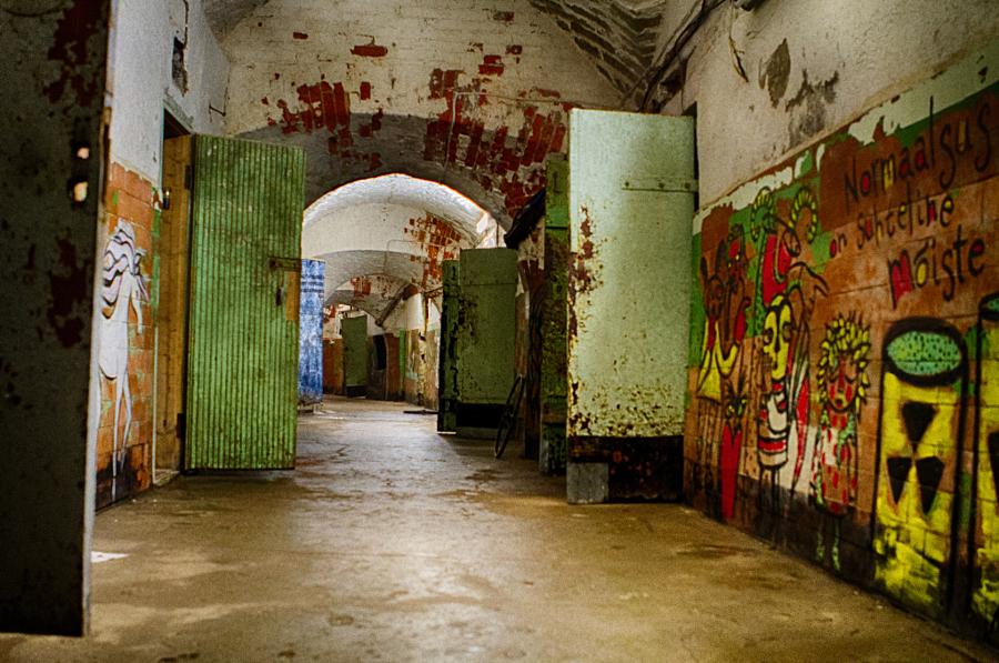 Ruins of Patarei Gulag
