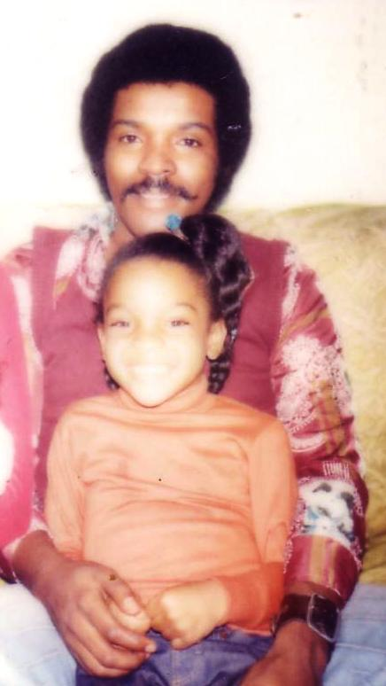 A 1970s era photo of me and my Daddy.