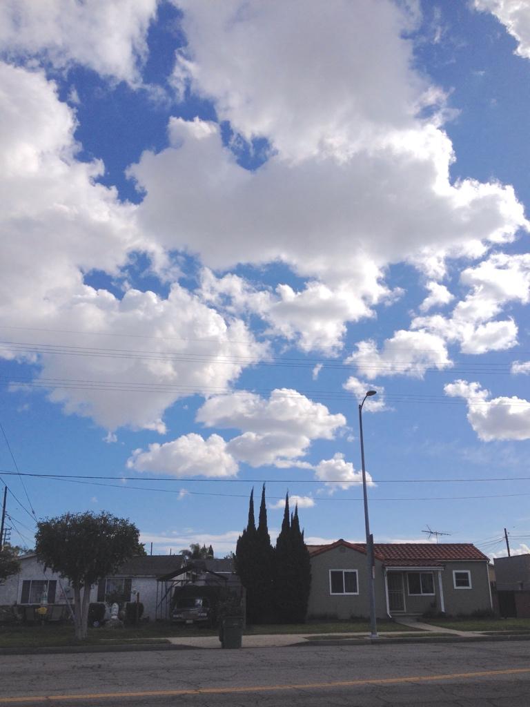 Last week's SoCal sky
