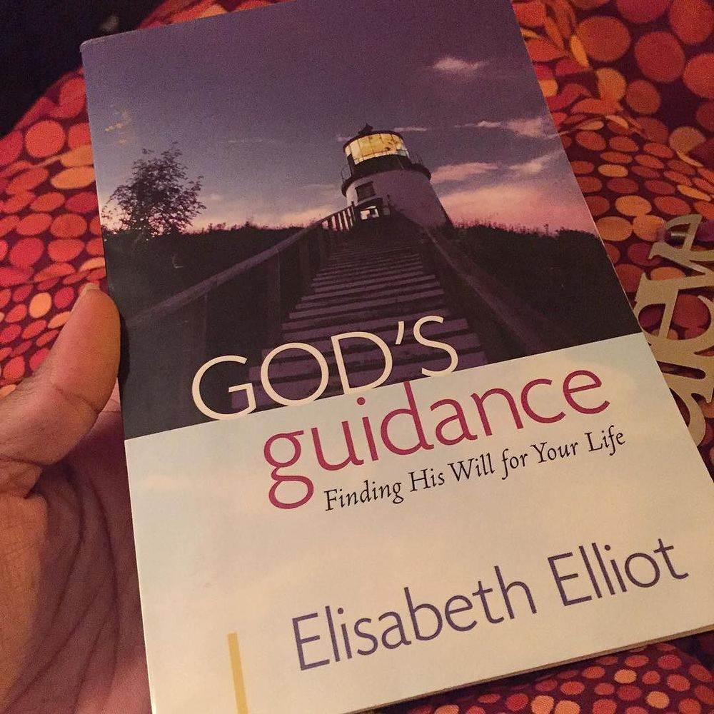 This is my Saturday night turn-up late night reading. #elisabethelliot.jpg