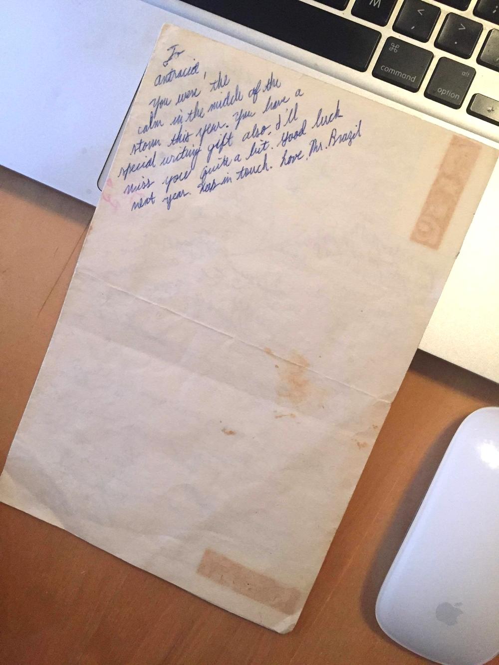 writing gift