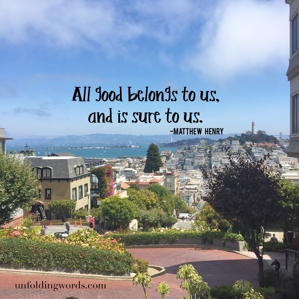 The view over Lombard Street from my recent visit to San Francisco.