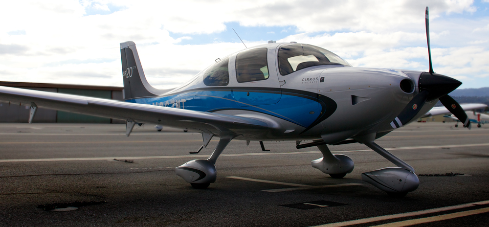 N667MT 2012 Cirrus SR20 Garmin G1000 Perspective With an aircraft this advanced available for your flight training, why would you train in anything else? Regular Member Rate $260 HR Block Rate* $250 HR