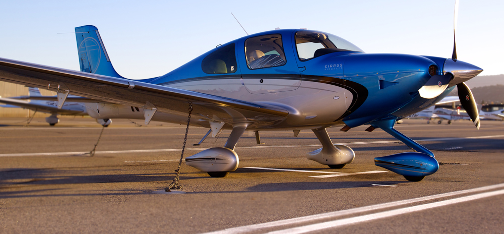 Aircraft of choice: The Cirrus SR22T G5. It's fast and cost efficient.