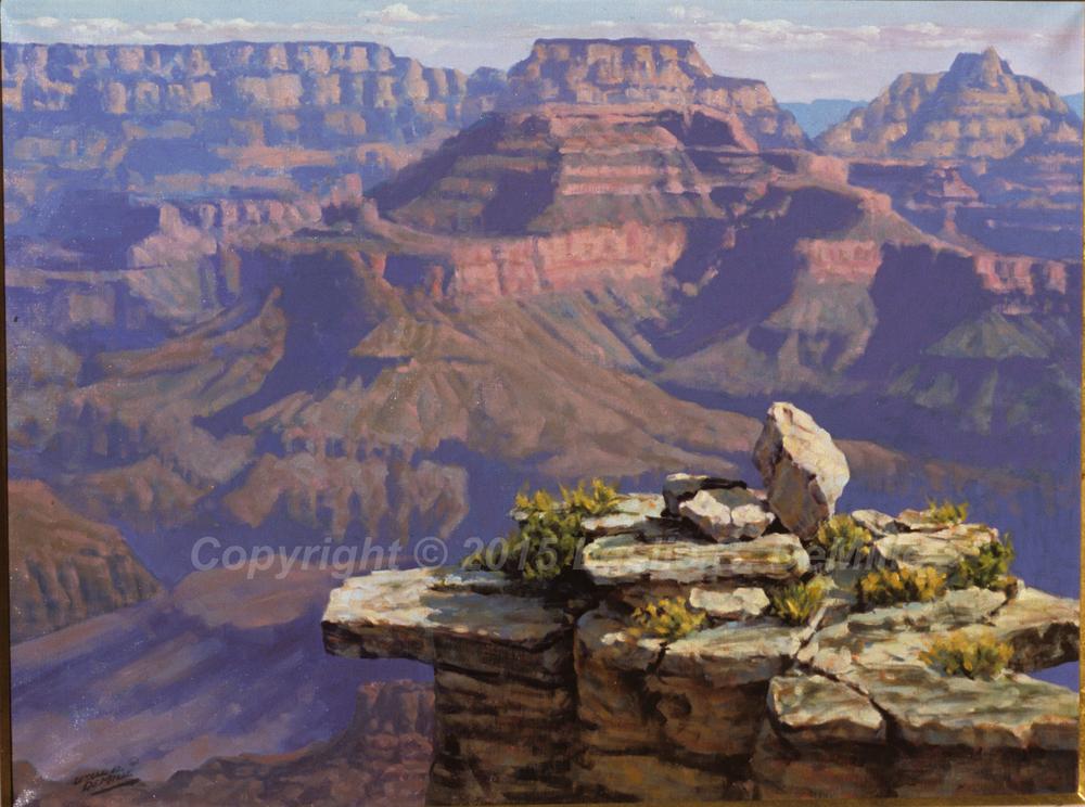 Grand Canyon 1, Pastel (14x11)