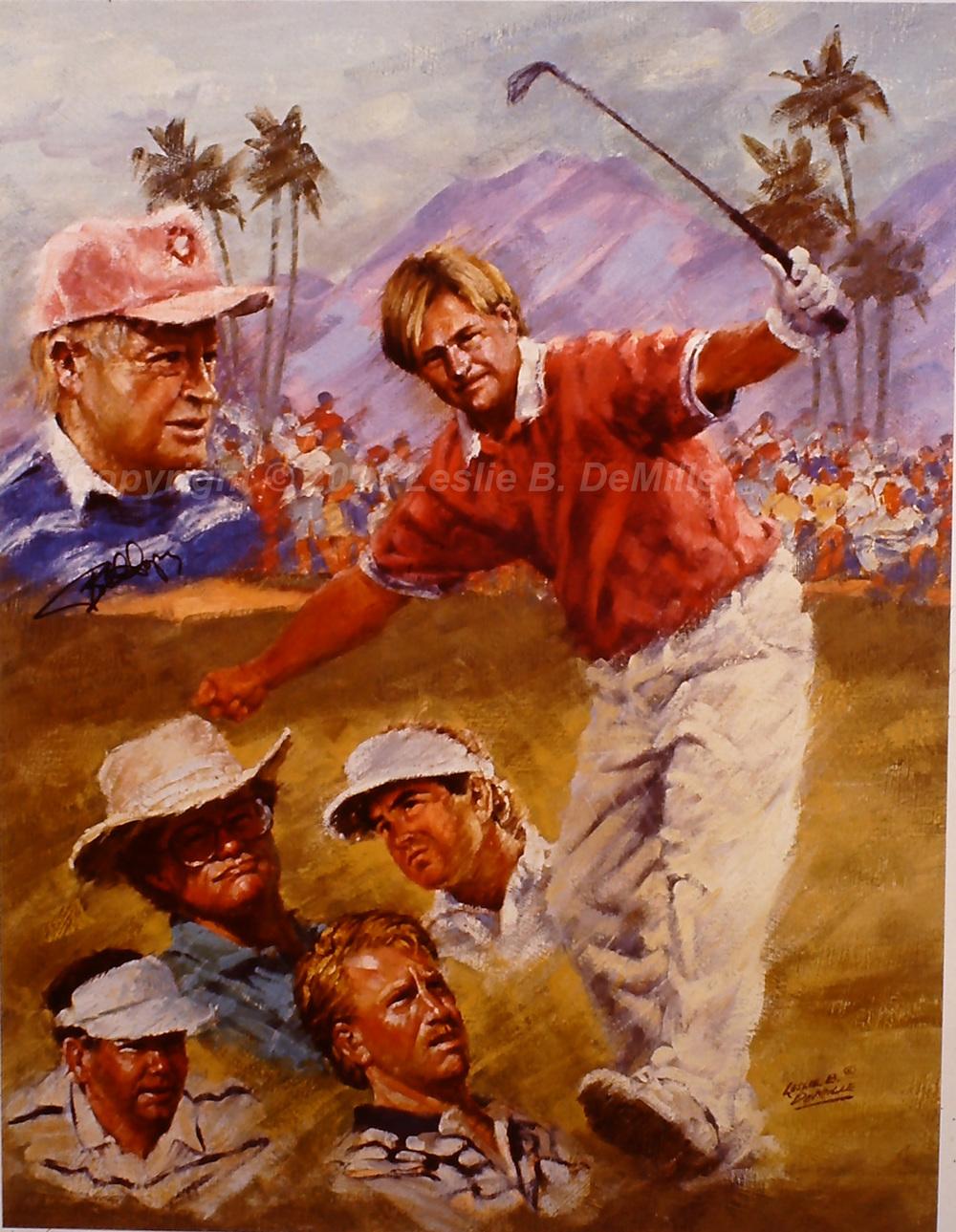 Bob Hope Classic, Oil (11x14)