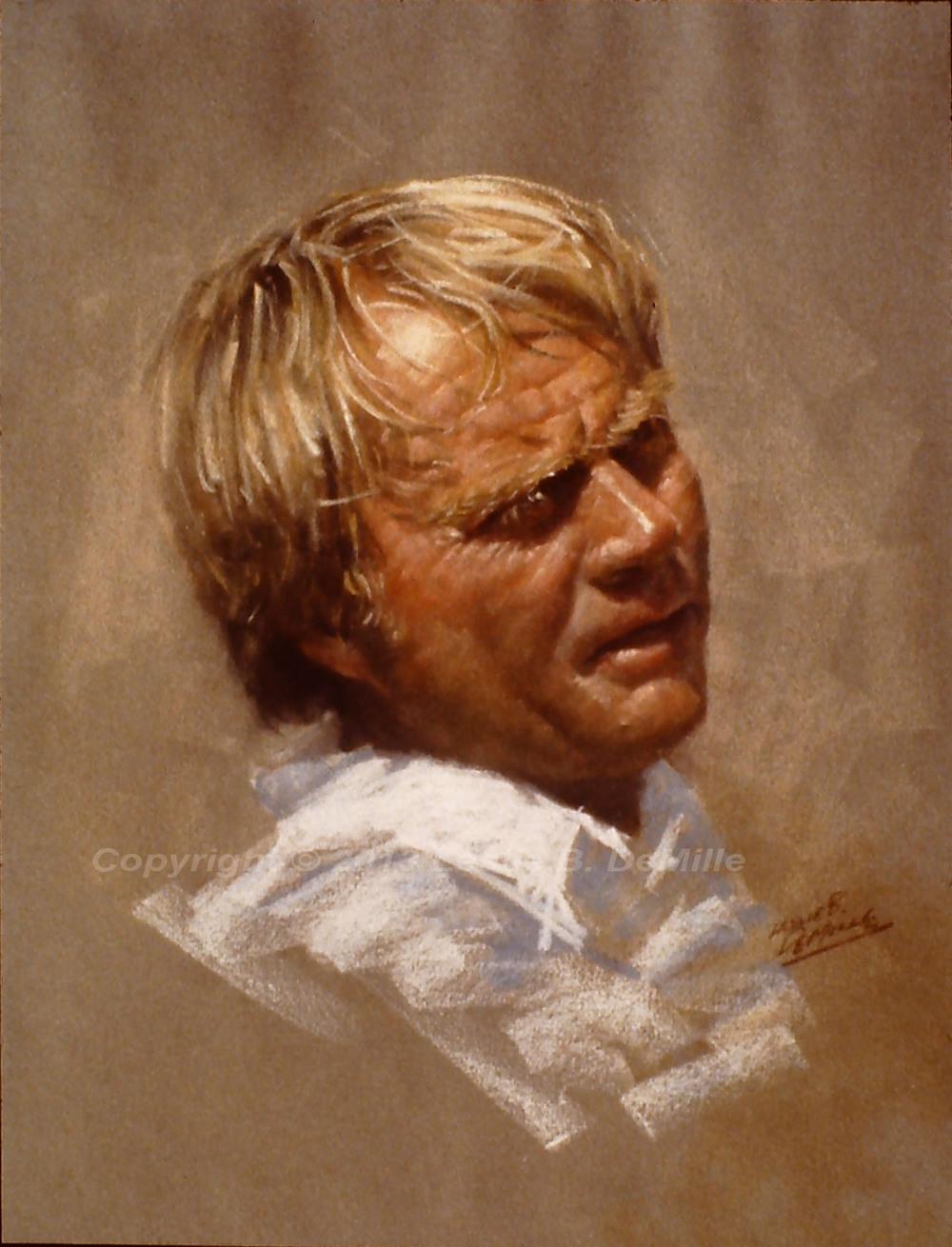 Jack Nicklaus 2, Pastel (11x14)