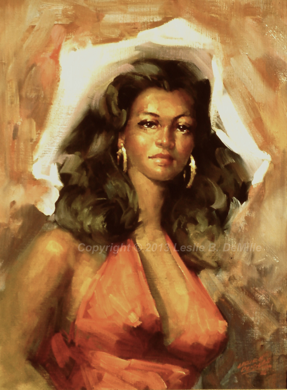 Carmenita, Oil (11x14)