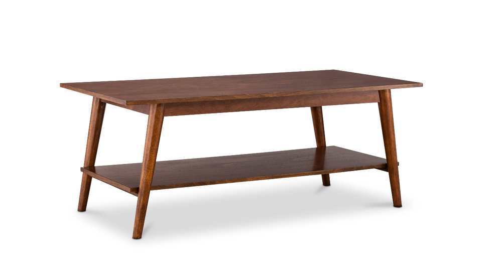 Mid century modern coffee table is available for $150 or as part of a set.