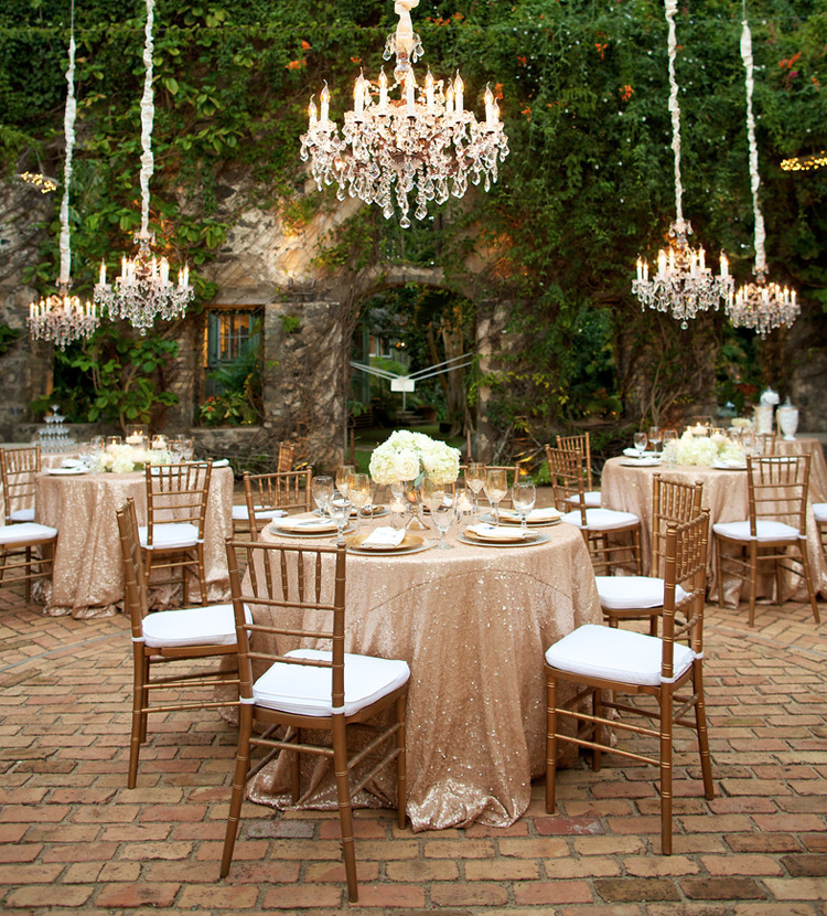 Rococo crystal chandeliers signature boutique event rentals maui chandelier rentalgg aloadofball Choice Image