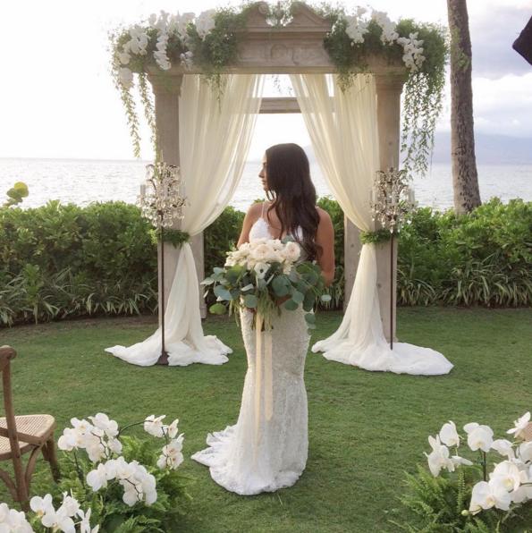 European Arch Columns Signature Boutique Event Rentals Maui Hawaii
