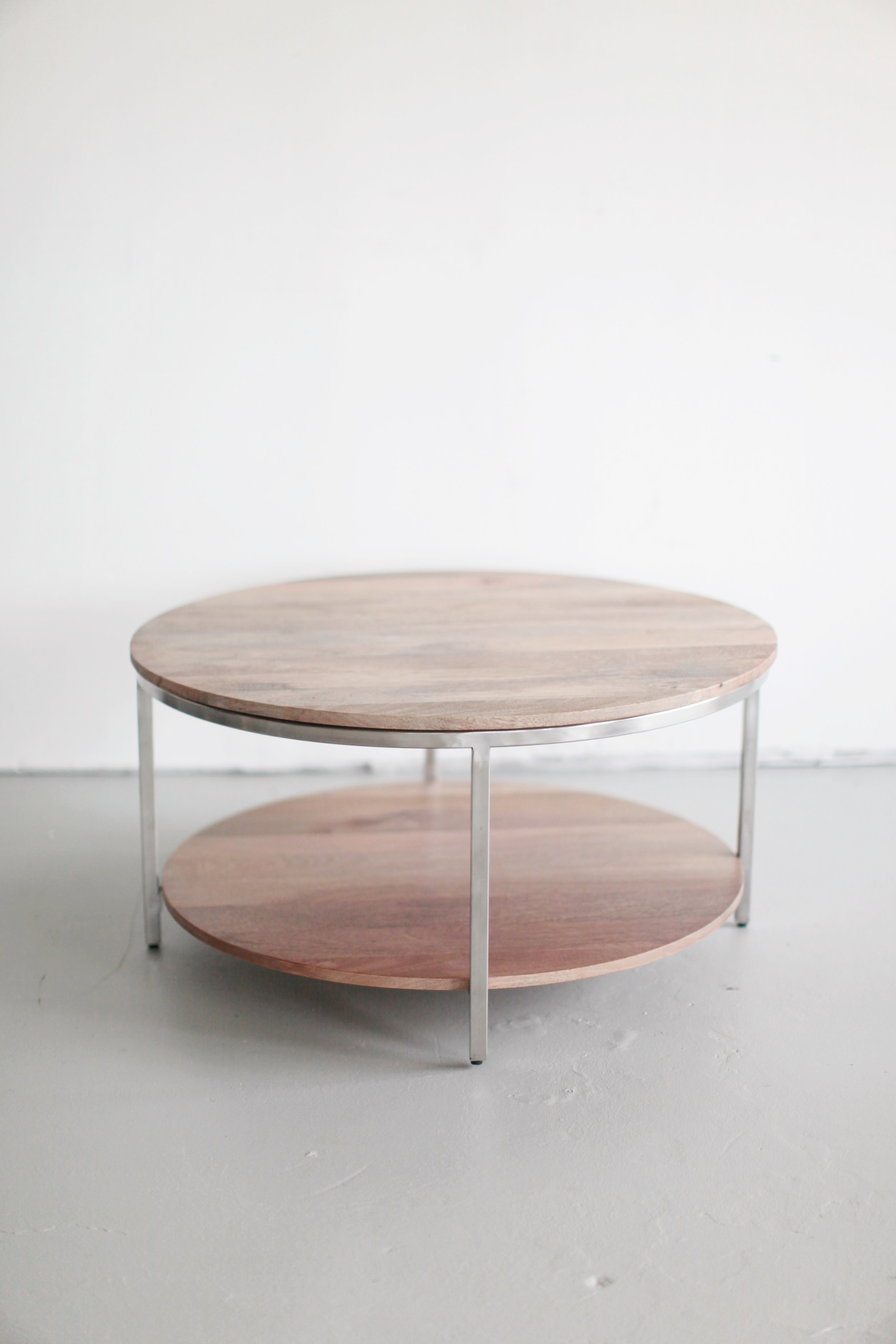 Modern Round Coffee Table ...