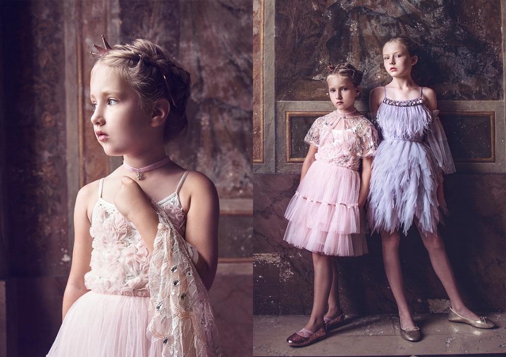TUTUDUMONDE FLOWERGIRL DRESSES