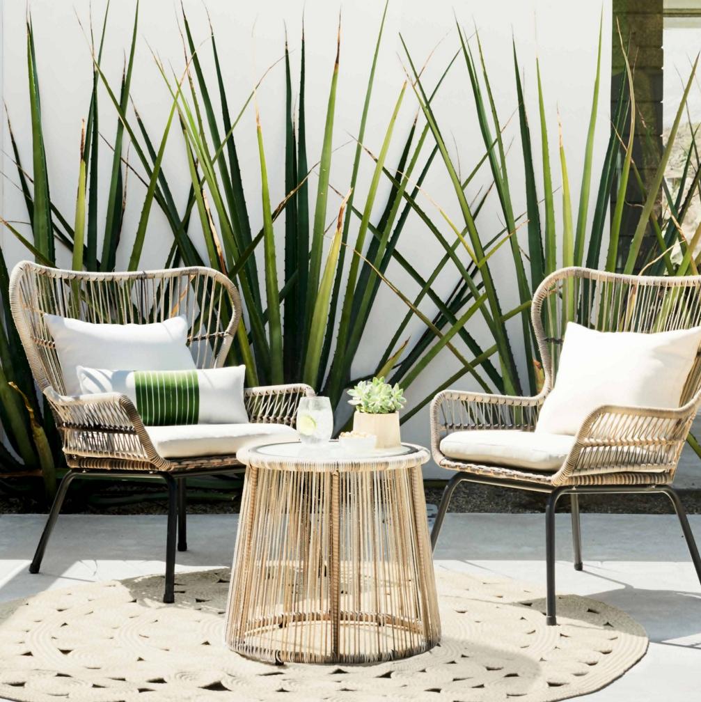 Tropical Modern Rattan Chairs