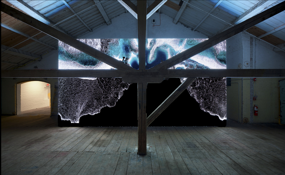 Exhibited 2015 @ Mass Moca, North Adams, MA