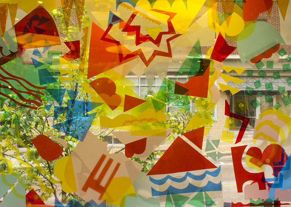 Picture, Picture (Madison Children's Museum Installation) , 2015, mixed media (detail)