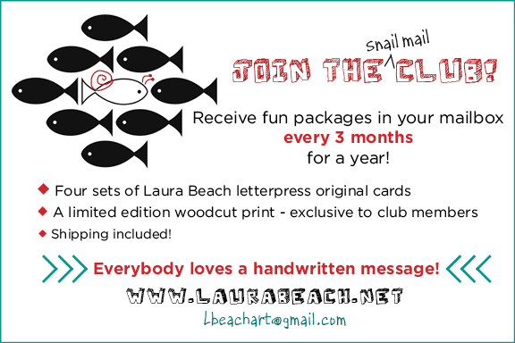 Join the Snail Mail Club!