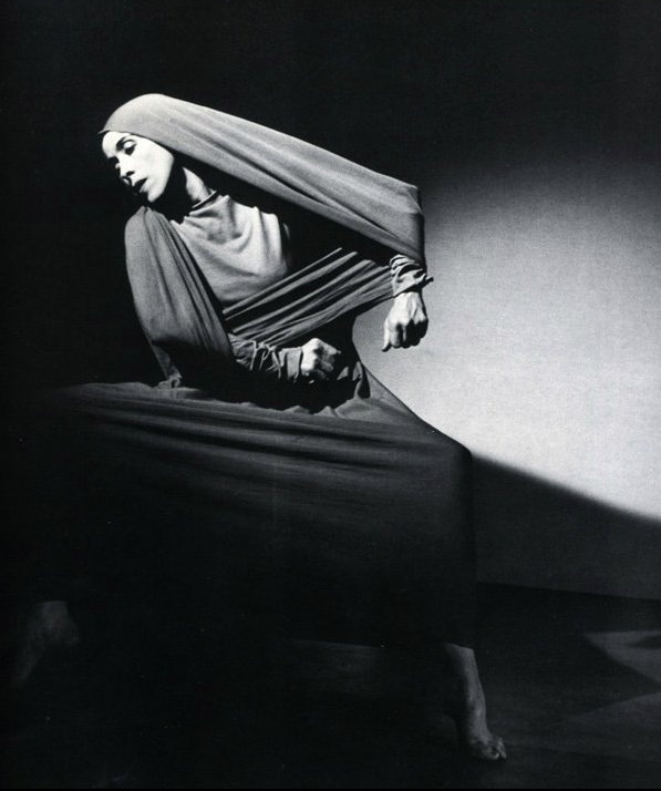 Martha Graham. Dramatic. Famous.