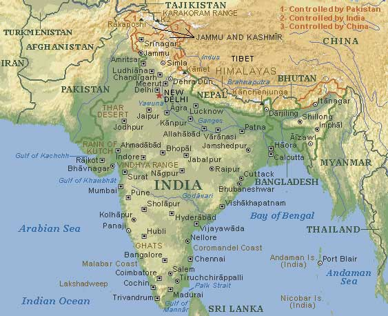 Map of nepal and india world map 07 world map 07 gumiabroncs Choice Image
