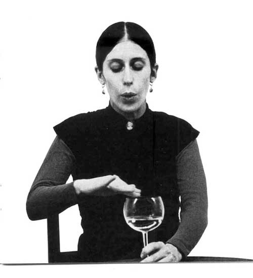 Meredith Monk performing at The Naropa Institute