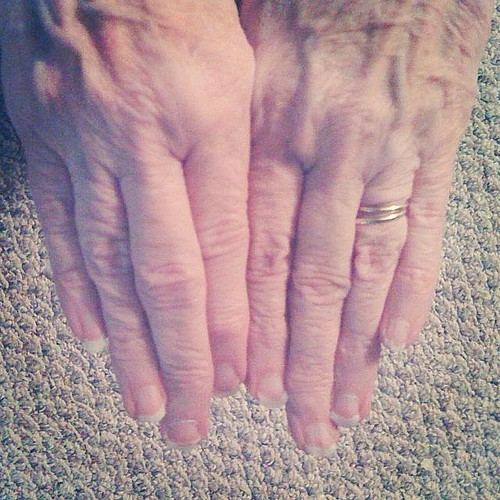 Grandma Dot's Hands