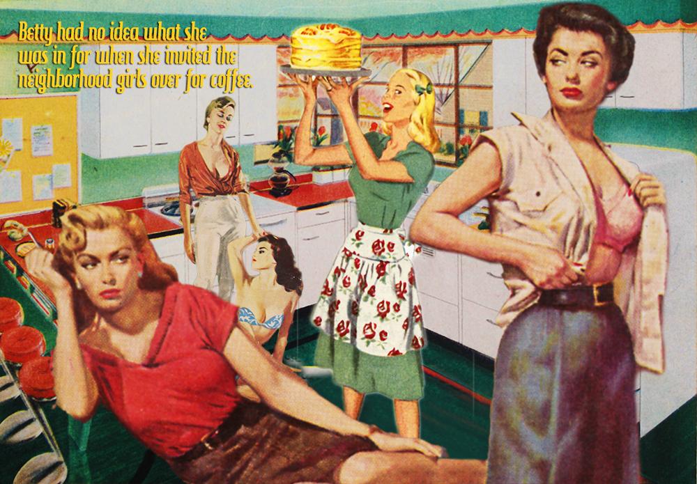 Lesbian Pulp Meets 1960's Domesticity