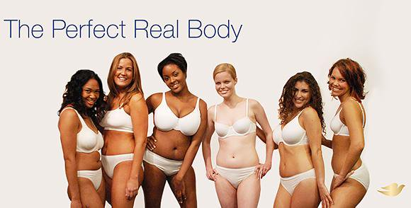 Dove campaign knows what's realistic. Thank you!