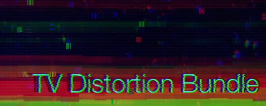 AE Scripts' TV Distortion Bundle
