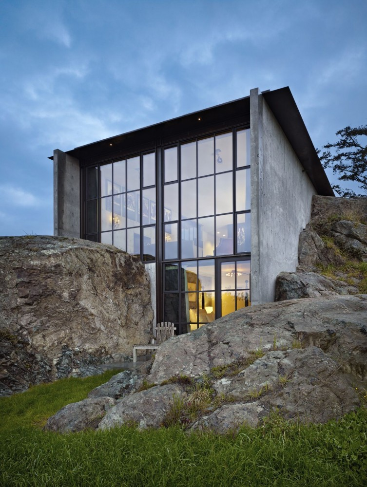 The Pierre - Olson Kundig Architects - San Juan Islands Washington State - Benjamin Benschneider Photographer - 2.jpg