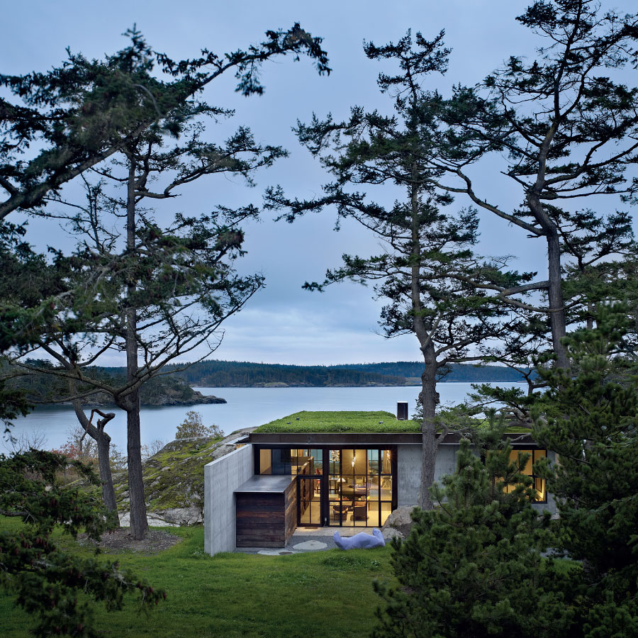 The Pierre - Olson Kundig Architects - San Juan Islands Washington State - Benjamin Benschneider Photographer - 1.jpg