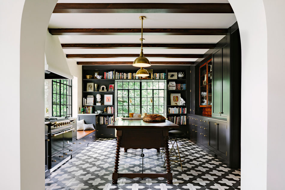 Kitchen Tiles Lincoln alhambra kitchen — the designphile