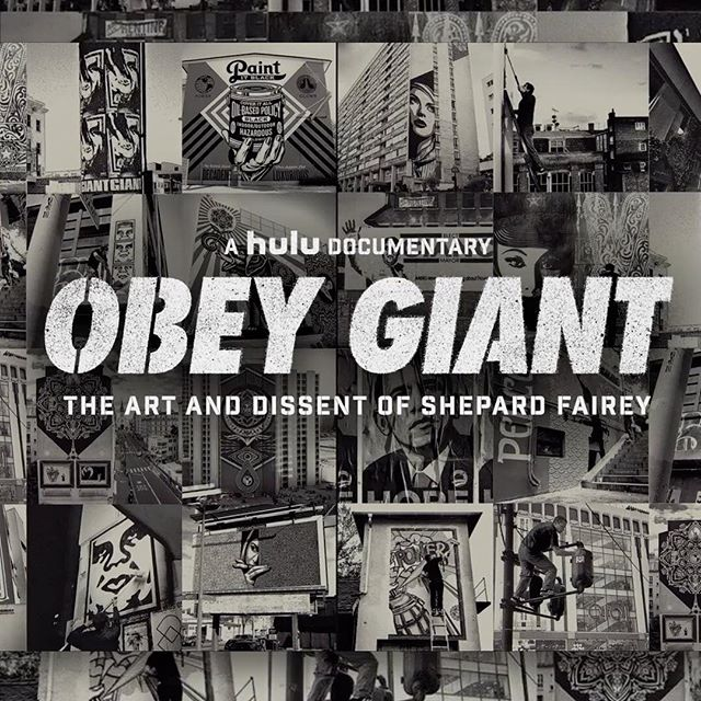 We're so excited to bring you our new film 'OBEY GIANT: The Art And Dissent Of Shepard Fairey' premiering this Saturday, November 11th on @hulu  #hulu #obeygiant #shepardfairey #tcalandrello #twistedpumpkin #streetart #artist #art #documentary #premiere #film