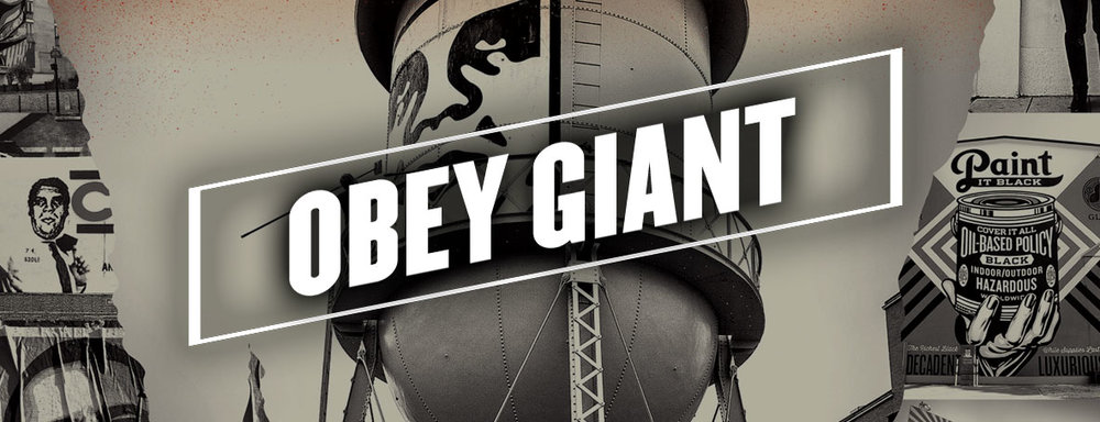 MOVIE BANNER FOR WEBSITE HOMEPAGE OBEY GIANT