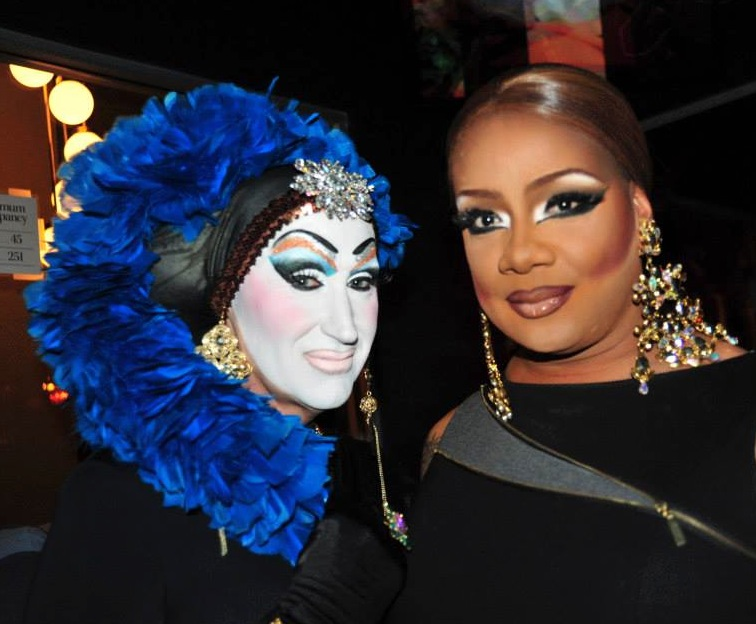Sister Roma with  Mercedez Munro
