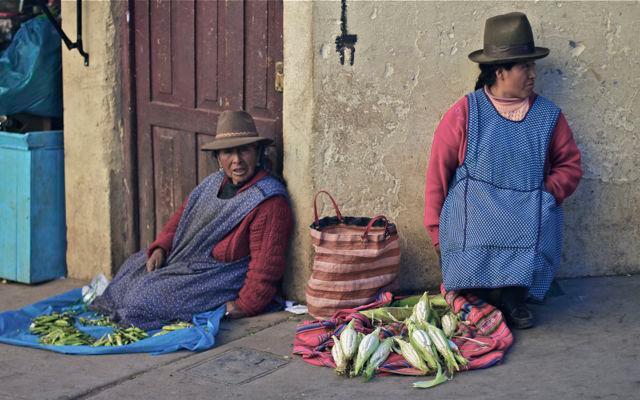 Vendedoras en Cusco