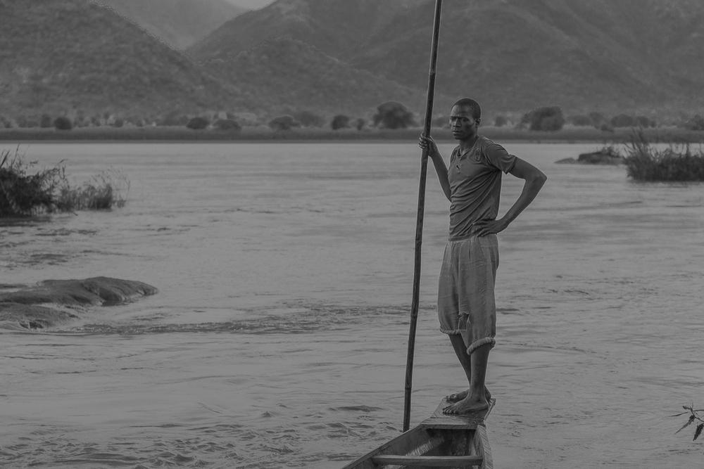 Barquero del río Faro