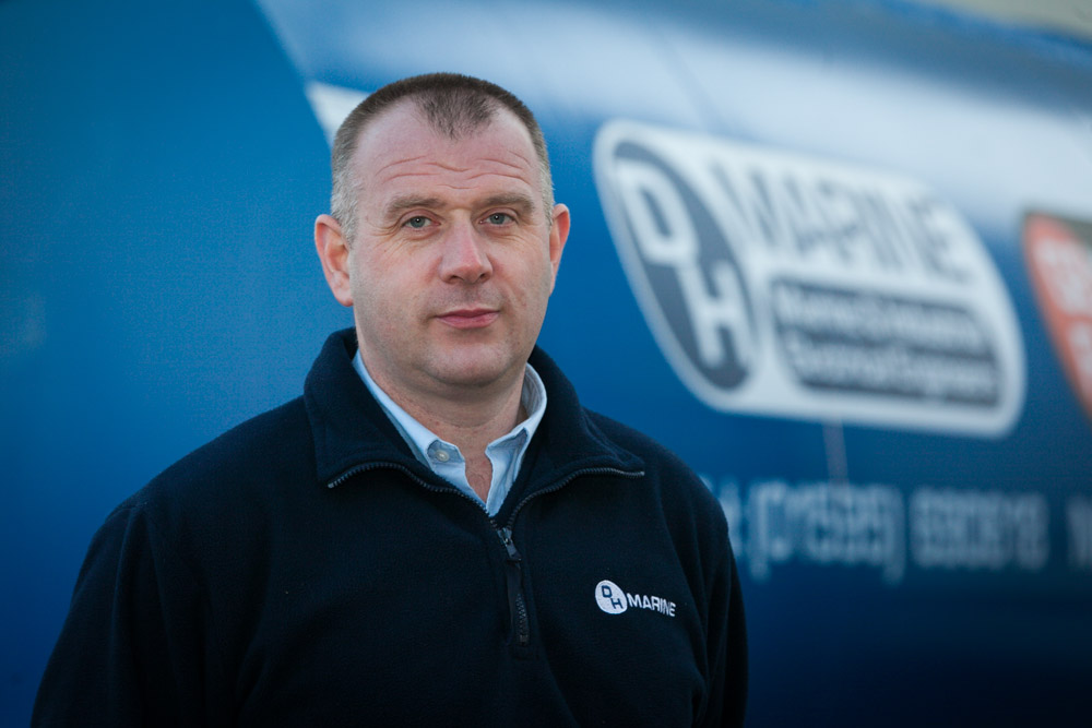 Shetland firm DH Marine expand into new premises